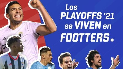 Cartel de Footters para los playoff de ascenso