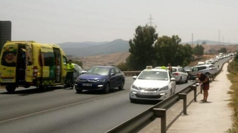Accidente N-340 ALGECIRAS