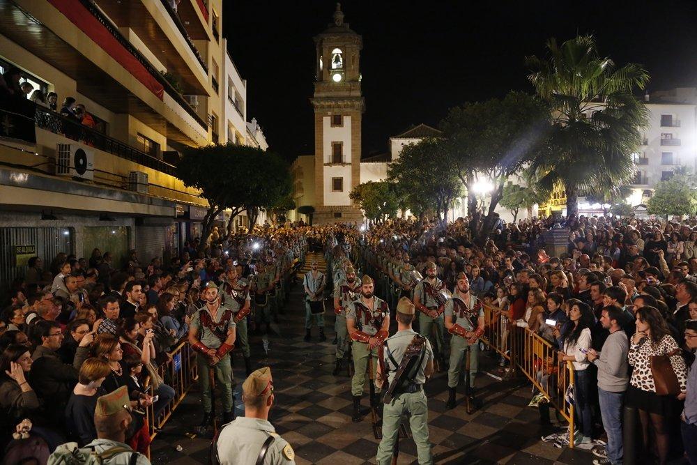 La legi n volver a desfilar el lunes santo por las calles for Cristalerias en algeciras