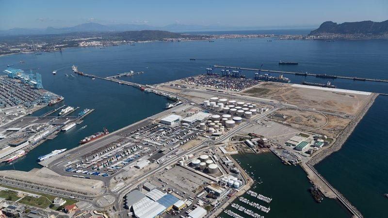 El puerto de algeciras consolida su crecimiento con m s de un mill n y medio de contenedores movidos - Puerto de algeciras hoy ...