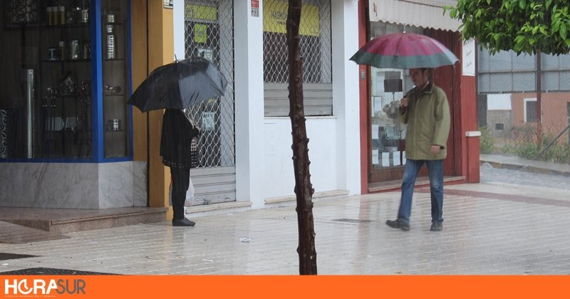 La lluvia sigue amenazando