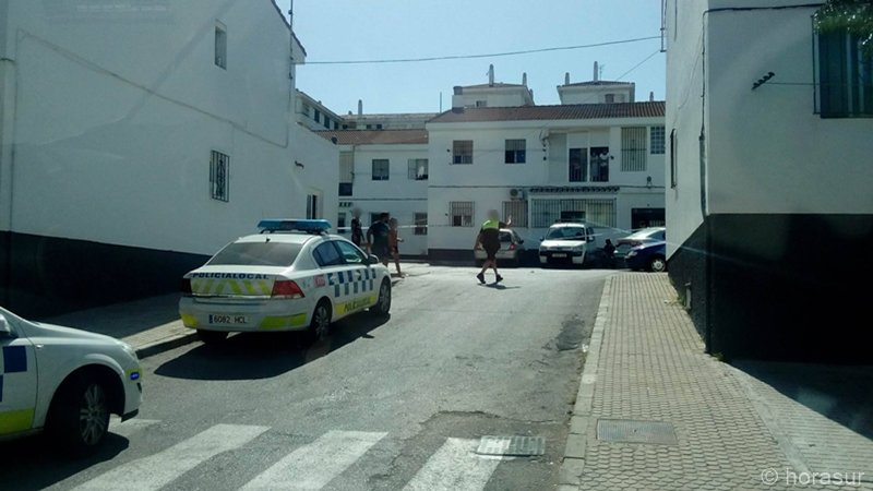 Policia Local en el Saladillo esta tarde
