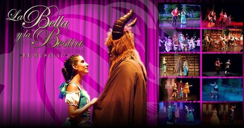 Resultado de imagen de Musical de La Bella y la Bestia animagic