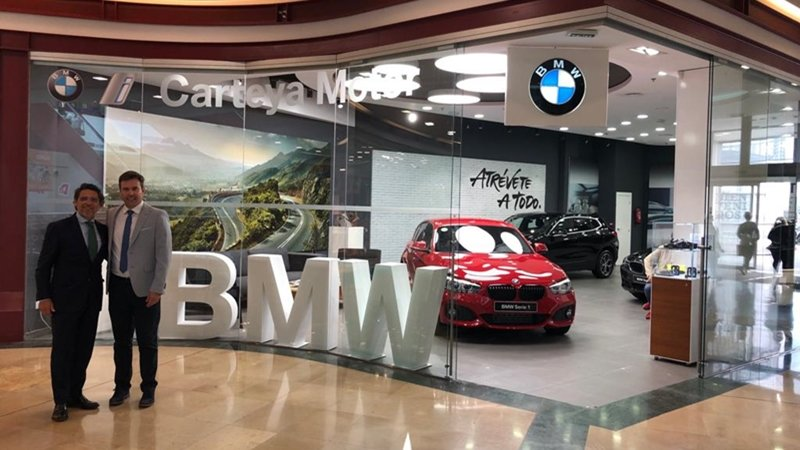 El espacio Pop Up de BMW